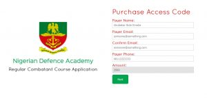 NDA admission Process