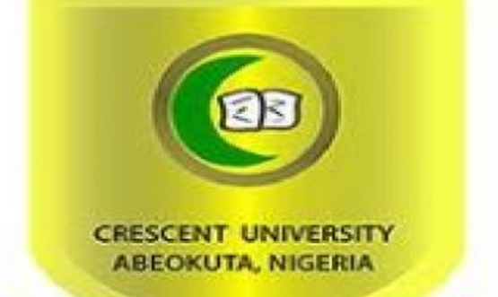 My Logo :Crescent University Post UTME Form