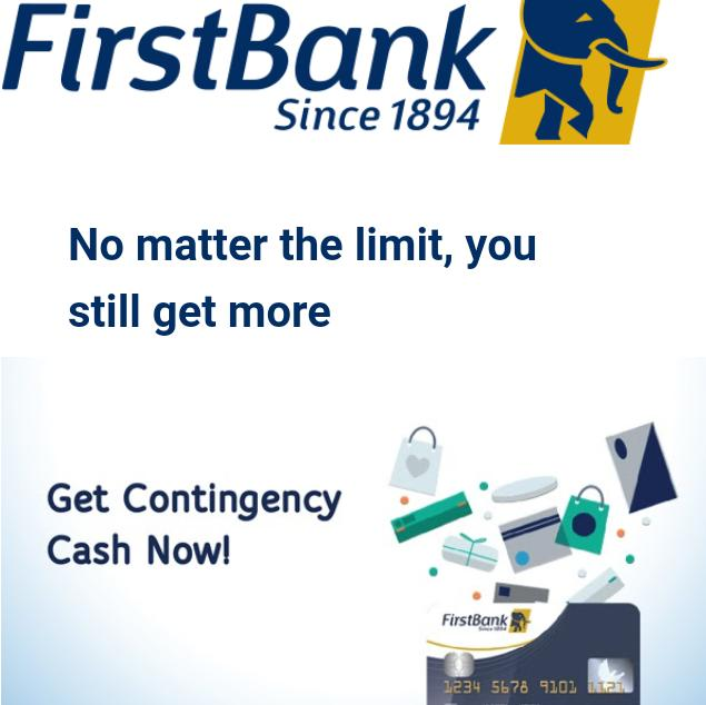 My Logo : First Bank Naira Credit Card