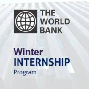 World Bank Summer Internship