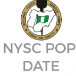 NYSC Batch A POP Date