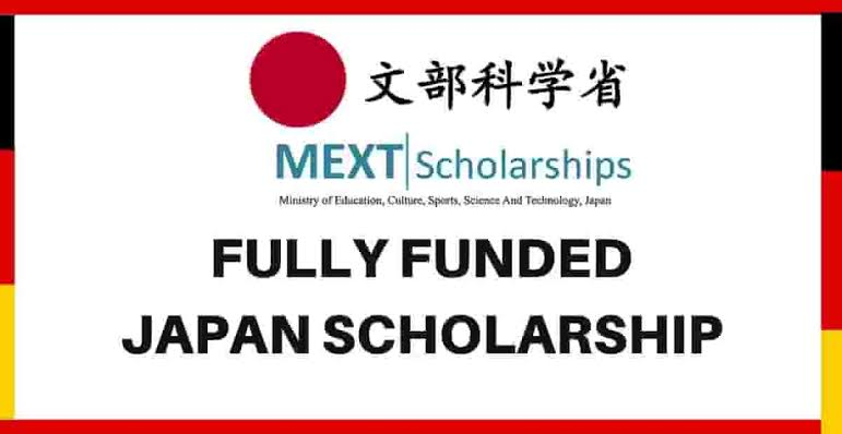 My Logo : Japanese Government (MEXT) Scholarships