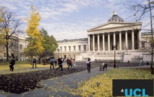 My logo : University College London Scholarship