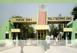My Logo ; Rufus Giwa Poly Admission Form