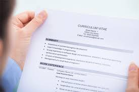 My logo: Writing Curriculum Vitae CV