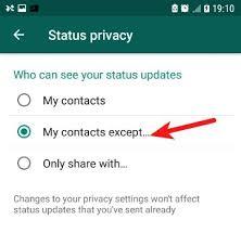 My Logo : Block WhatsApp Status